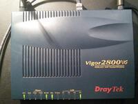 Draytek Vigor 2800VG ADSL2+ AnnexM модем Wi-Fi 108Mb +2 VoIP, + USB 3G и принтер
