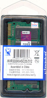 DDR 512MB PC2700 Kingston 333MHz sodimm