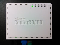 MikroTik RB750GL гигабитный роутер RAM 64 Mb Flash 128 MB 5x1000 Mbits Ethernet RouterOS v6.27 Level 4