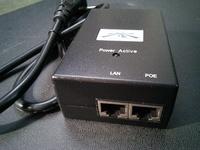 Gigabit PoE Ubiquiti POE-48-24W-G 48В 0,5А подходит к Mikrotik RB800