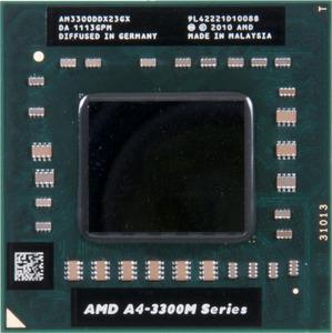 Процессор для ноутбука AMD A4-3300M300x300
