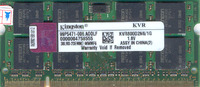 sodimm DDR2 1gb 800 Mhz PC6400 Kingston