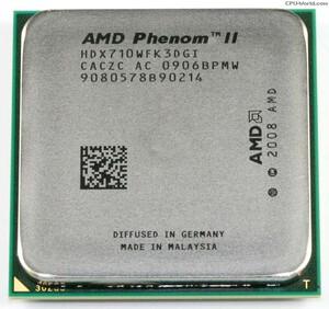Процессор AMD Phenom II X3 710 AM2+ AM3 2,6 GHz HDX710WFK3DGI300x300