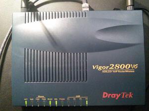 Draytek Vigor 2800VG ADSL2+ AnnexM модем Wi-Fi 108Mb +2 VoIP, + USB 3G и принтер300x300
