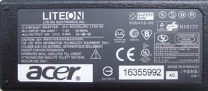 Блок питания Acer 19V 3,42A (5.5*1.7) 65W300x300