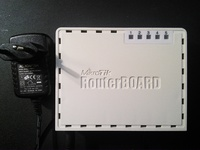 MikroTik RB750G гигабитный роутер CPU 680-800MHz 5x1Gb/s