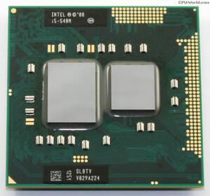 Процессор для ноутбука i5-540M300x300