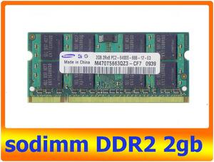 sodimm DDR2 2gb 2RX8 PC2-6400S 666 Samsung 800 Mhz300x300